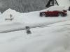 Het liefst duikt Luuk onder de sneeuw